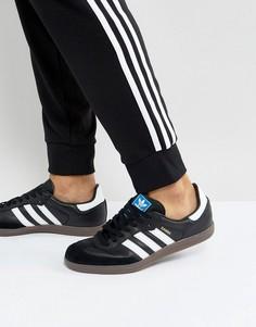 Черные кроссовки adidas Originals Samba BZ0058 - Черный