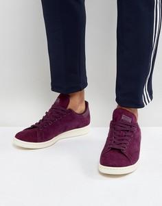 Красные кроссовки adidas Originals Stan Smith BZ0484 - Красный