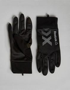 Черные зимние перчатки Reebok Training BP7008 - Черный
