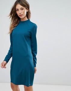 Платье с высоким воротом Bellfield Anzio - Темно-синий