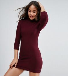Платье-джемпер с воротником-поло Brave Soul Tall - Красный