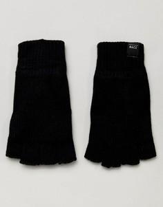 Перчатки без пальцев Jack & Jones - Черный