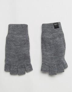 Перчатки без пальцев Jack & Jones - Серый