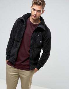 Черная флисовая куртка на молнии Penfield - Черный