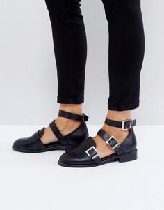 Туфли на плоской подошве ASOS MAYBEE - Черный