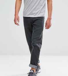 Серые эластичные брюки укороченного кроя Diesel Loozy 084LE - Серый