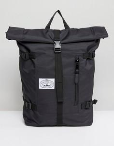 Черный рюкзак с закатанным верхом Poler - Черный