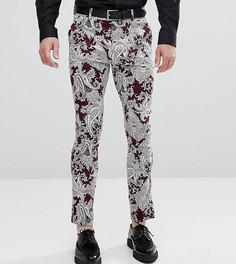 Облегающие брюки Reclaimed Vintage Inspired - Фиолетовый