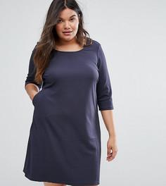 Цельнокройное платье Junarose - Синий