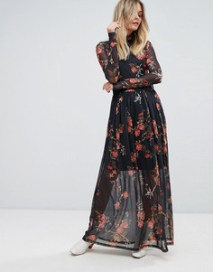 Платье макси Vero Moda - Мульти