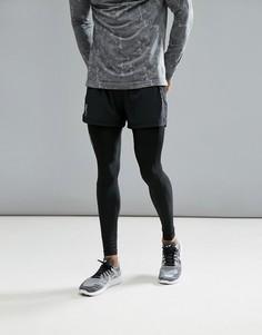Черные спортивные шорты Craft Sportswear Essential 5 1904800-9999 - Черный