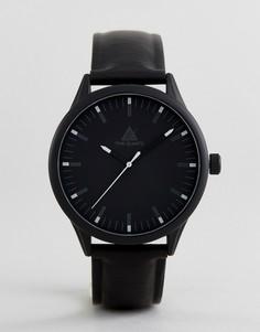 Монохромные часы, светящиеся в темноте ASOS - Черный
