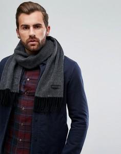 Серый шарф из кашемира PS by Paul Smith - Серый