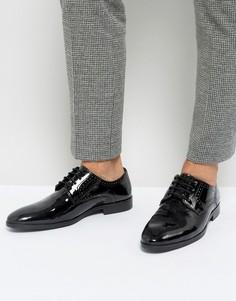 Лакированные оксфордские туфли Silver Street - Черный