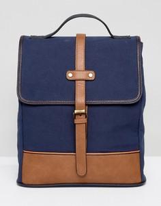 Парусиновый рюкзак Dune Luke - Темно-синий