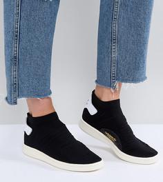Черные кроссовки adidas Originals Stan Smith Primeknit - Черный