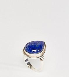 Серебряное кольцо с лазуритом Rock N Rose Ellen - Серебряный