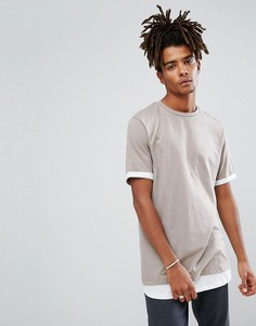 Длинная футболка ASOS - Мульти