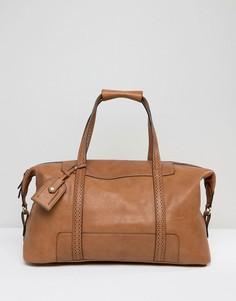 Светло-коричневая сумка Dune Aaron - Рыжий