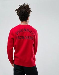 Свитшот с вышивкой HUF Exodus - Красный