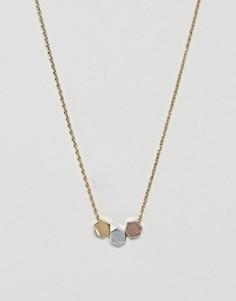 Ожерелье с подвесками Orelia - Золотой