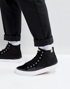 Черные классические высокие кеды HUF - Черный