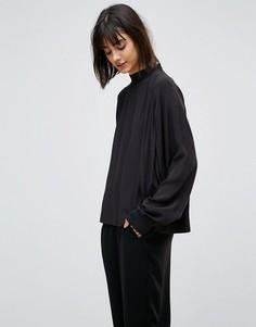 Блузка в стиле свитшота Weekday - Черный