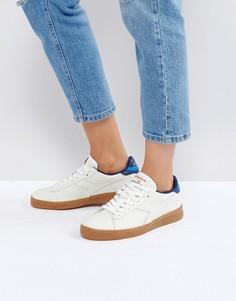 Низкие кроссовки (белый/синий) Diadora Game L - Белый