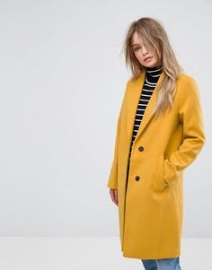 Желтое пальто New Look - Желтый