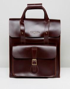 Кожаный рюкзак Dr Martens - Коричневый