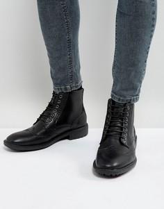 Черные ботинки-броги Brave Soul - Черный