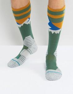 Зимние носки Stance Long Way - Зеленый