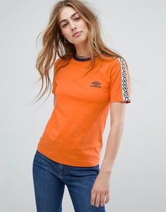 Футболка с логотипом Umbro - Оранжевый