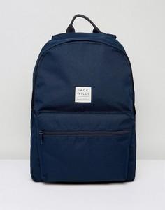 Темно-синий рюкзак Jack Wills Thurso - Темно-синий