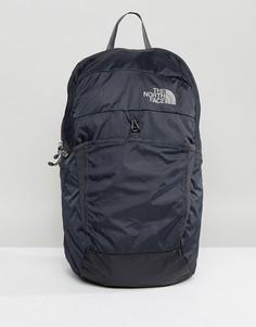 Черный складной рюкзак The North Face - Серый