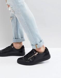 Черные кроссовки на молнии Luke 1977 Hill Pump - Черный