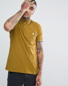 Желтая футболка-поло с короткими рукавами и окантовкой Pretty Green Barton - Желтый