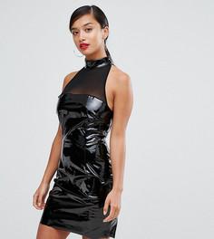 Облегающее платье NaaNaa Petite - Черный