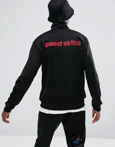 Спортивная куртка с принтом на спине Sweet SKTBS x Pepsi - Черный