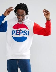 Худи с большим логотипом Sweet SKTBS x Pepsi - Белый