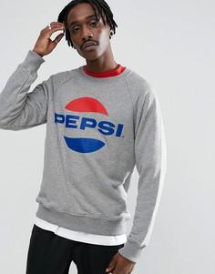 Серый свитшот с логотипом Sweet SKTBS x Pepsi - Серый