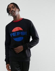Черный свитшот с логотипом Sweet SKTBS x Pepsi - Черный