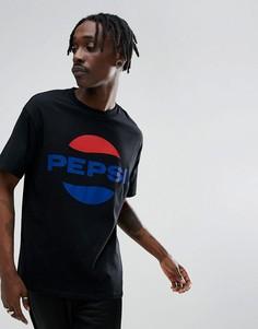 Черная футболка с логотипом Sweet SKTBS x Pepsi - Черный