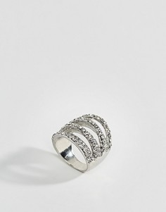 Серебристое кольцо DesignB - Серебряный