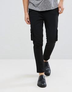 Брюки с карманами-карго Jack & Jones Premium - Черный