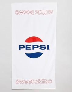 Полотенце с крупным логотипом Sweet SKTBS x Pepsi - Белый