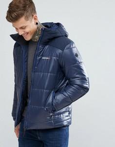 Темно-синяя дутая куртка Didriksons 1913 Reed - Темно-синий