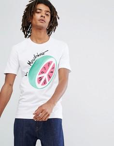 Футболка с принтом арбуза Love Moschino - Белый