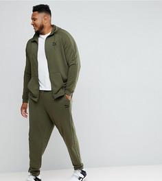 Спортивный костюм цвета хаки Puma PLUS эксклюзивно для ASOS - Зеленый