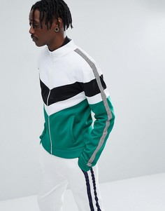 Зеленая спортивная куртка с принтом Jaded London - Зеленый